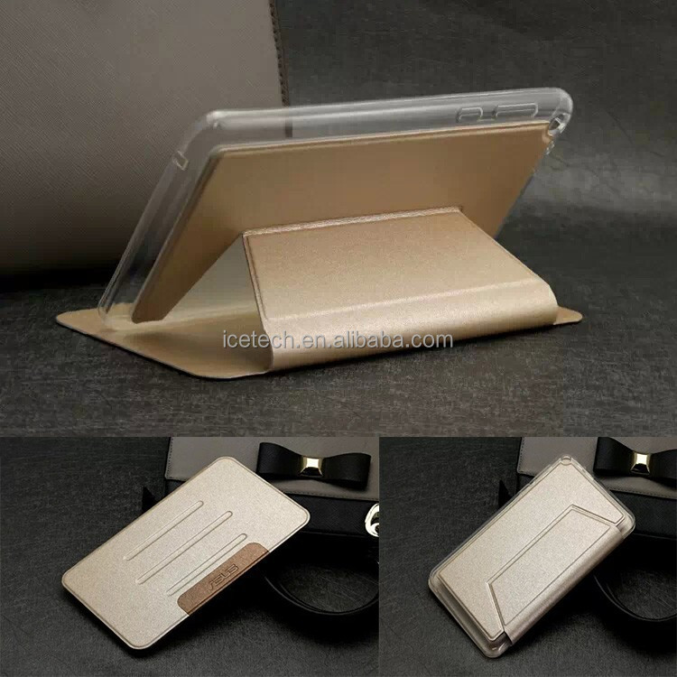 TPU Folio Flip Stand Leather Cover Case For Lenovo A5500