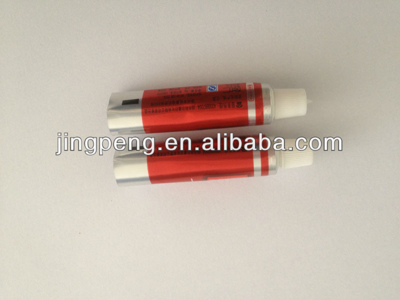 packaging tube for hair extensions/toothpaste tube/toothpaste