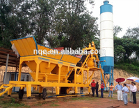 YHZS 25 mobile concrete batching plant (25m3/h)
