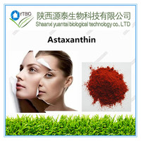 High quality natural extract Astaxanthin1-5%, CAS 472-61-7 from gmp plant with best price!