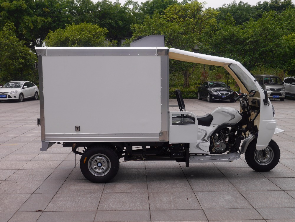 mini electric van truck cargo tricycle