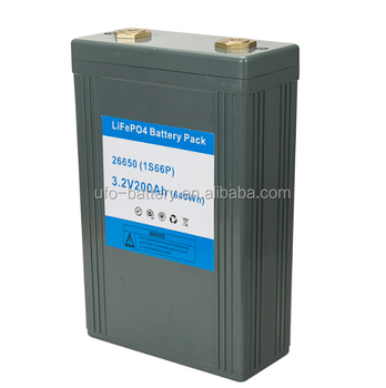 New arrived 3.2V 200Ah lithium battery rechargeable pack with hard case