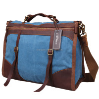 Iblue D031 Men Blue Canvas Weekender