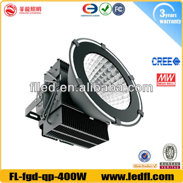 High Power led flood lamp 400w free water free dust Warranty 3 years