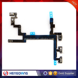 Brand new power switch on off flex cable, on off flex cable for iphone 5
