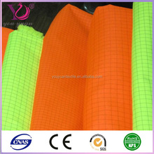 orange fluorescent fabric reflective fabric for traffic safety clothing