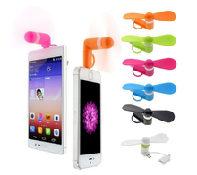 2-in-1 usb mini mobile phone fan for iphone and andorid
