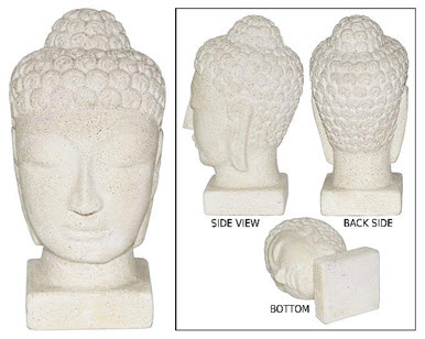BUDDHA HEAD GYPSUM SMALL