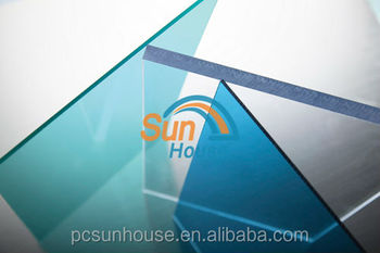 2mm Blue Polycarbonate sheet for roofing 1220mm Wide