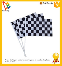 12 inch China flag factory cheering election hand held flags