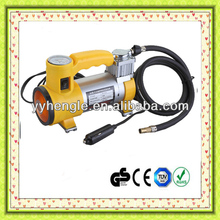 12V Car air compressor portable car air compressor air pump tire inflator With light