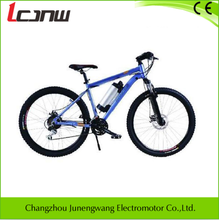 "manufacturers high performance mountain electric bicycle 18 speed Aluminum 26"" 36V 250W brushless hub lithium-ion samsung 8.8Ah"