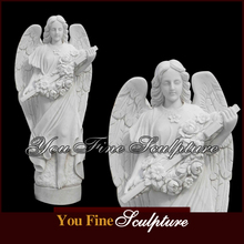 Hand Carved Natural Marble Grave Statue