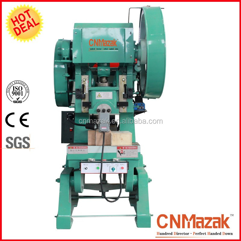 Factory pressional manual punching machine electric bench power press metal stamping press J23-10T