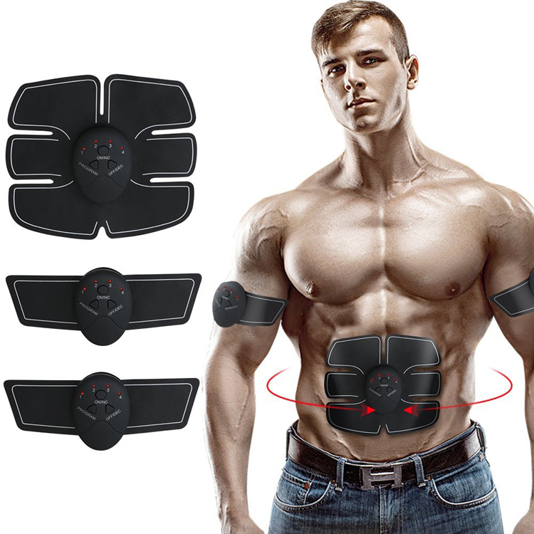 2018 trending Ems Electronic Ab Abdominal Muscle Belt Stimulation Toning Massager With Massage Belt