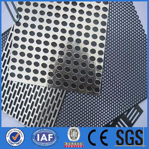 square hole perforated metal sheet