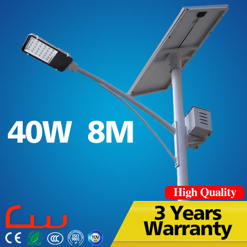 Poly panel 150W 60W LED lamp solar led street light price To Mexico