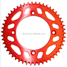 Motorcycle accessories 7075 aluminum rear sprocket