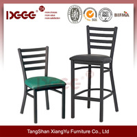 Metal dining Chair and bar chair DG-694B/697B Classic Restaurant Furniture Used for sale