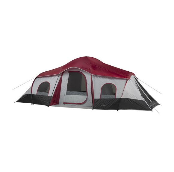 10-Person 3-Room XL Family Cabin Tent