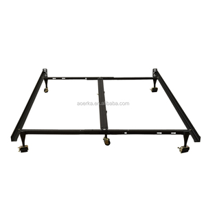 Hotel metal Bed Frames angle iron bed base frame