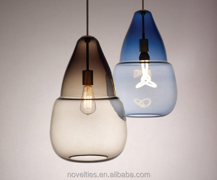 Moroccan Style Hanging Lights and Fairytale Suspension Lamp Carefully Hand-Blown by Italian Artisans