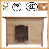 wood dog crate pen pet house end table kennel puppy