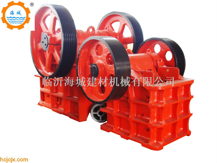 PE series jaw crusher widely used in Indonesia PE900*1200