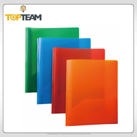 Translucent pocket folder with prong,file folders with plastic inserts,3 ring pocket folders