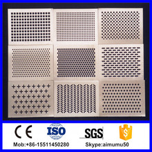 oval perforated metal mesh
