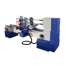Multifunctional wood copying lathe for wood column products