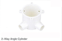 EMON 2-Way Angle Cylinder Pvc Pipe heater and astral Upvc Pipe fitting