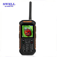 X6 Rugged Mobile feature Phone IP67 Waterproof gps walkie talkie dual sim rugged military cheap custom cell phone case