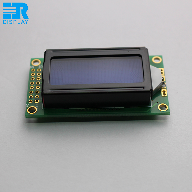 STN monochrome screen <strong>lcd</strong> 0802 character Blue mode display module ST7066U controller 3.3V