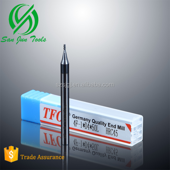 suzhou solid carbide end mill cutter