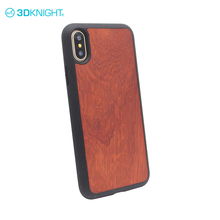 Eco mobile phone cases covers for apple iphone X blank wood tpu back cover