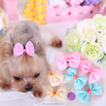 New Cute New Dog Hair Bows with cute color
