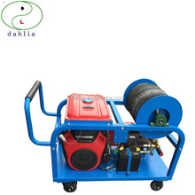 250-300 bar high pressure water cleaning machines for vessel hull at dry dock