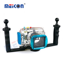 Meikon waterproof camera case for Nikon V1 underwater housing