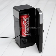 coffee beverage USB portable mini desktop cooling fridge
