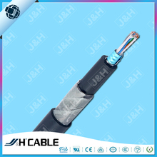 steel/aluminum tape armoured 8 pair copper conductor telephone cable for communication monitor