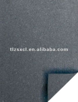 Environmental protection lining bonded leather for belt