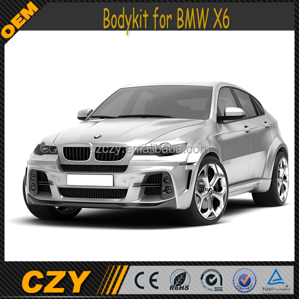 Bmw X6 Tuned: Auto Tuning Parts Evo Style X6 Bodykits For Bmw X6 2008