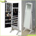 furniture free standing mirror jewelry armoire,wooden cabinet
