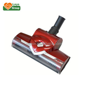 UNIVERSAL VACUUM CLEANER FLOOR BRUSH OF NORMAL TURBO CARPET DUSTING BRUSH WITH ROLLER RED COLOR ,VACUUM CLEANER PARTS (BMD-20