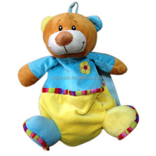 2014 cute soft plush animal shaped backpacks