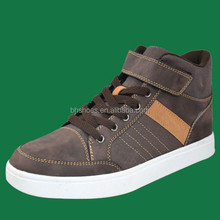 BH096551 warm high top sneakers with magic sticker for women and men