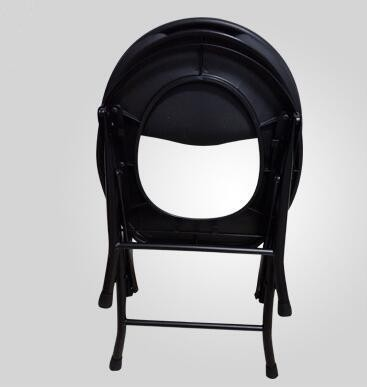 Steel folding toilet chair