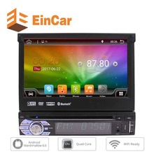 7'' Detachable Touchscreen Car DVD Player Android 6.0 Single DIN GPS Navigation Car Stereo Double Din In Dash Bluetooth Headunit
