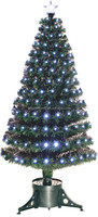 Newest Holiday Decoration Full Fiber optic LED Spiral Artifical Christmas Tree